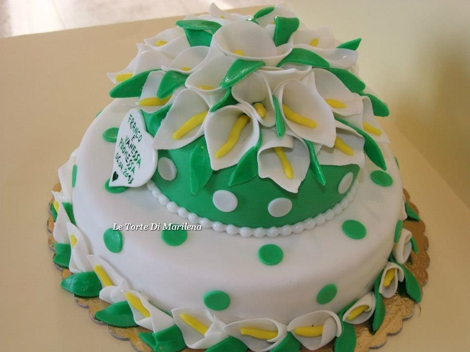 Torta Promessa Di Matrimonio Le Torte Di Marilena