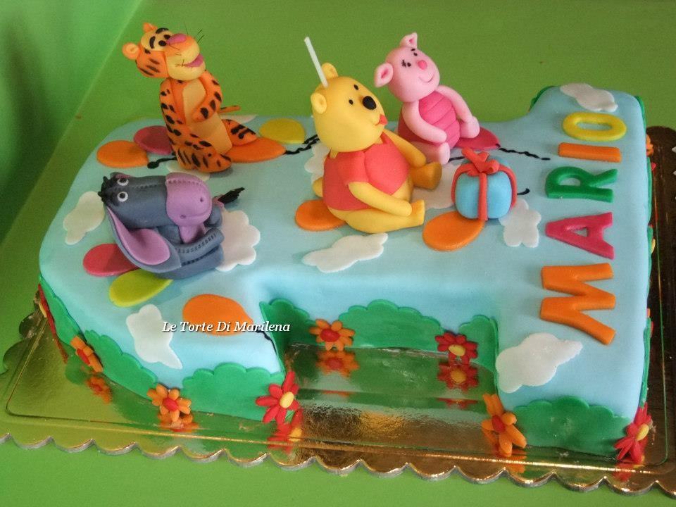 Torta winnie the pooh le torte di marilena - Cucina winnie the pooh ...
