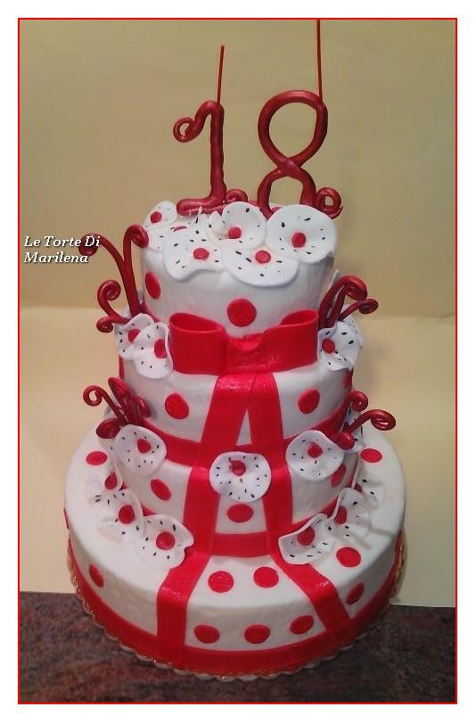 Torta 18 Esimo Compleanno Uomo Le Torte Di Marilena