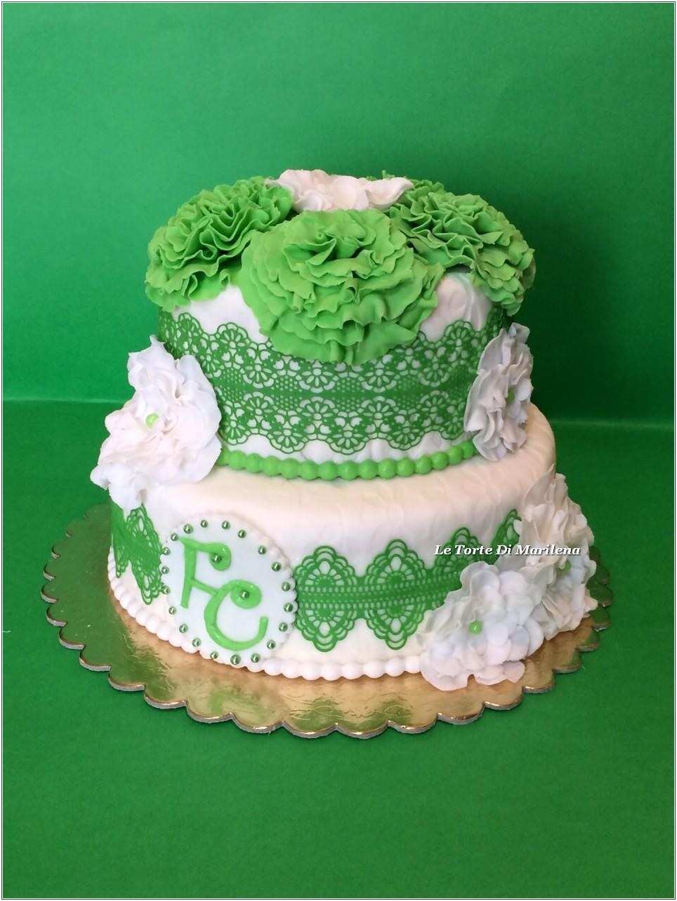 Estremamente TORTA PROMESSA DI MATRIMONIO | Le Torte di Marilena UR45