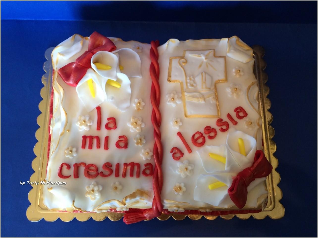 Bien-aimé TORTA CRESIMA | Le Torte di Marilena OX94