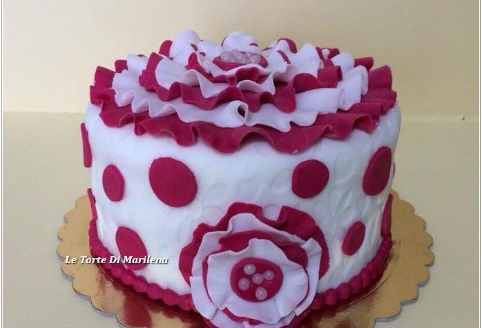 60 Esimo Compleanno Donna Le Torte Di Marilena