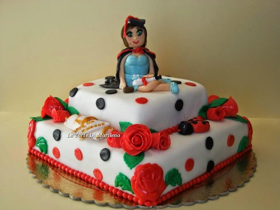 Molto TORTA LAUREA IN GIURISPRUDENZA | Le Torte di Marilena HP08