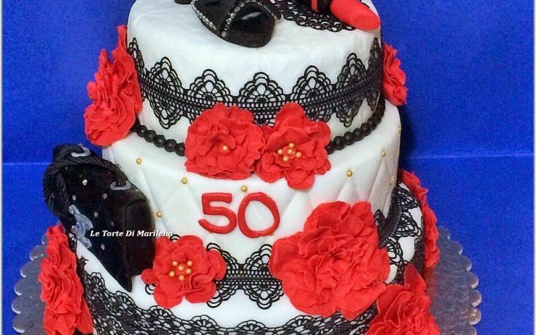 50 Esimo Compleanno Donna Le Torte Di Marilena