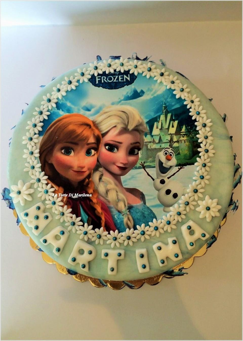 Torta Frozen Le Torte Di Marilena