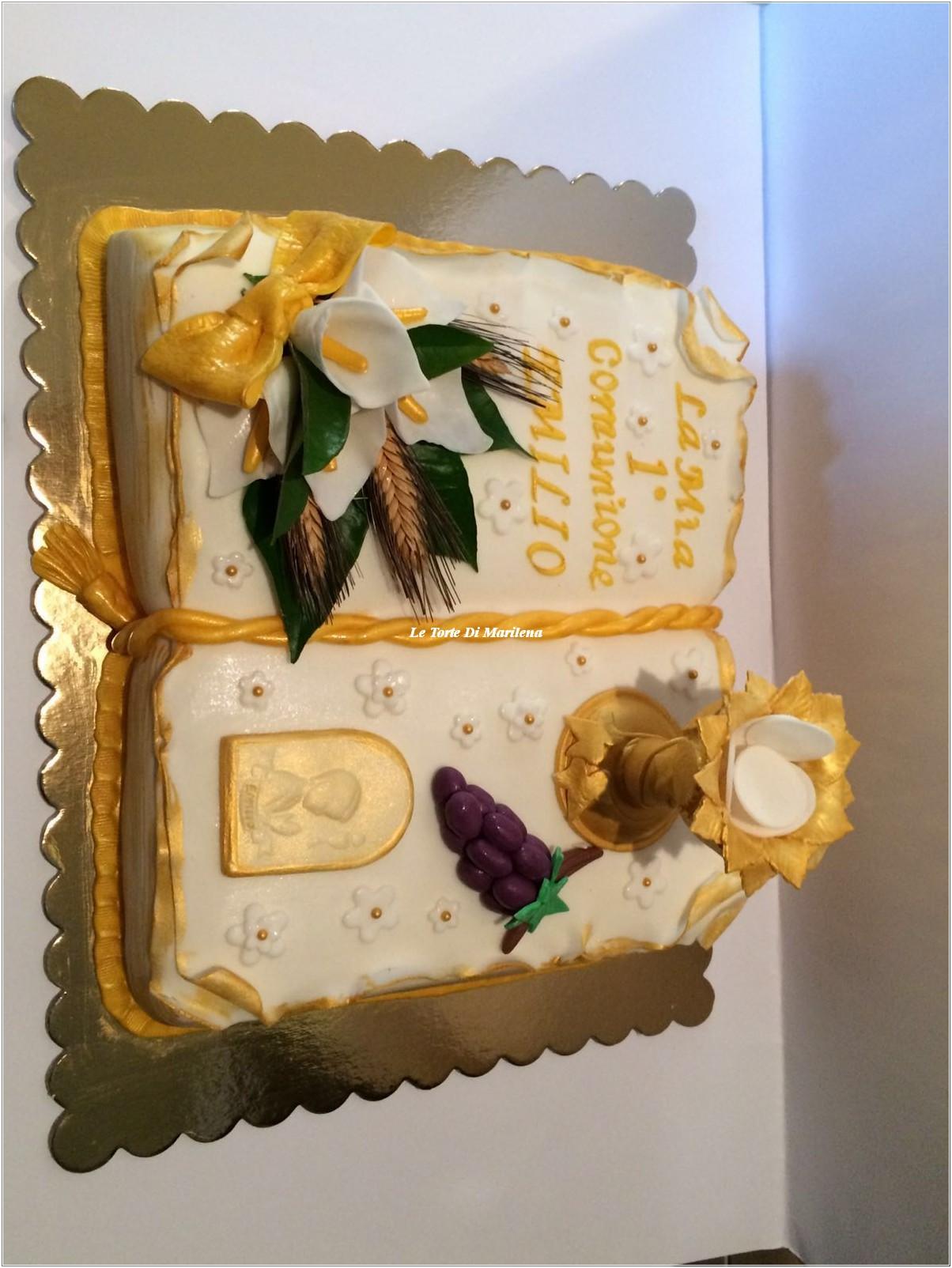 Super TORTA PRIMA COMUNIONE BAMBINO | Le Torte di Marilena SH01