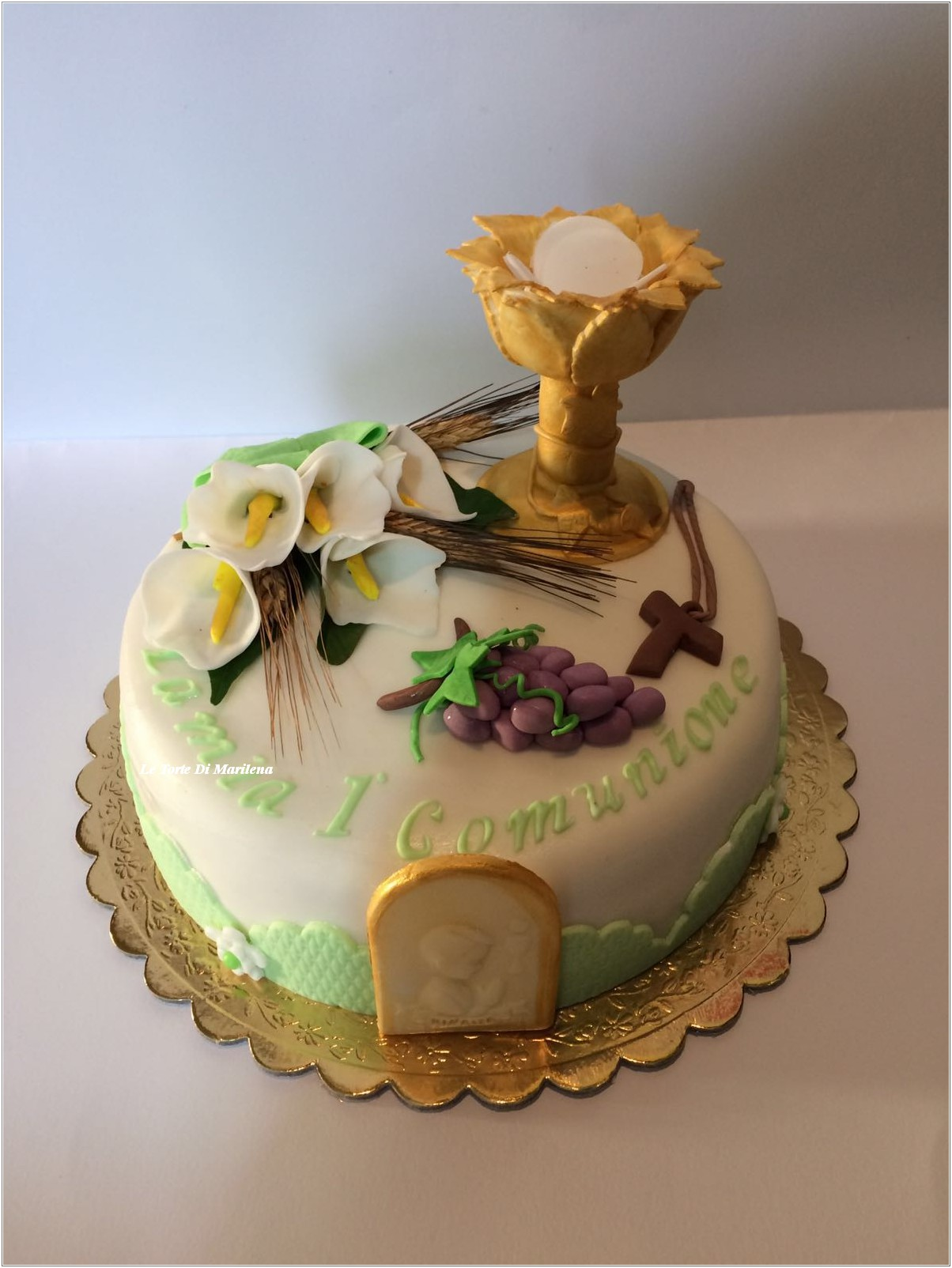 Torta Prima Comunione Le Torte Di Marilena